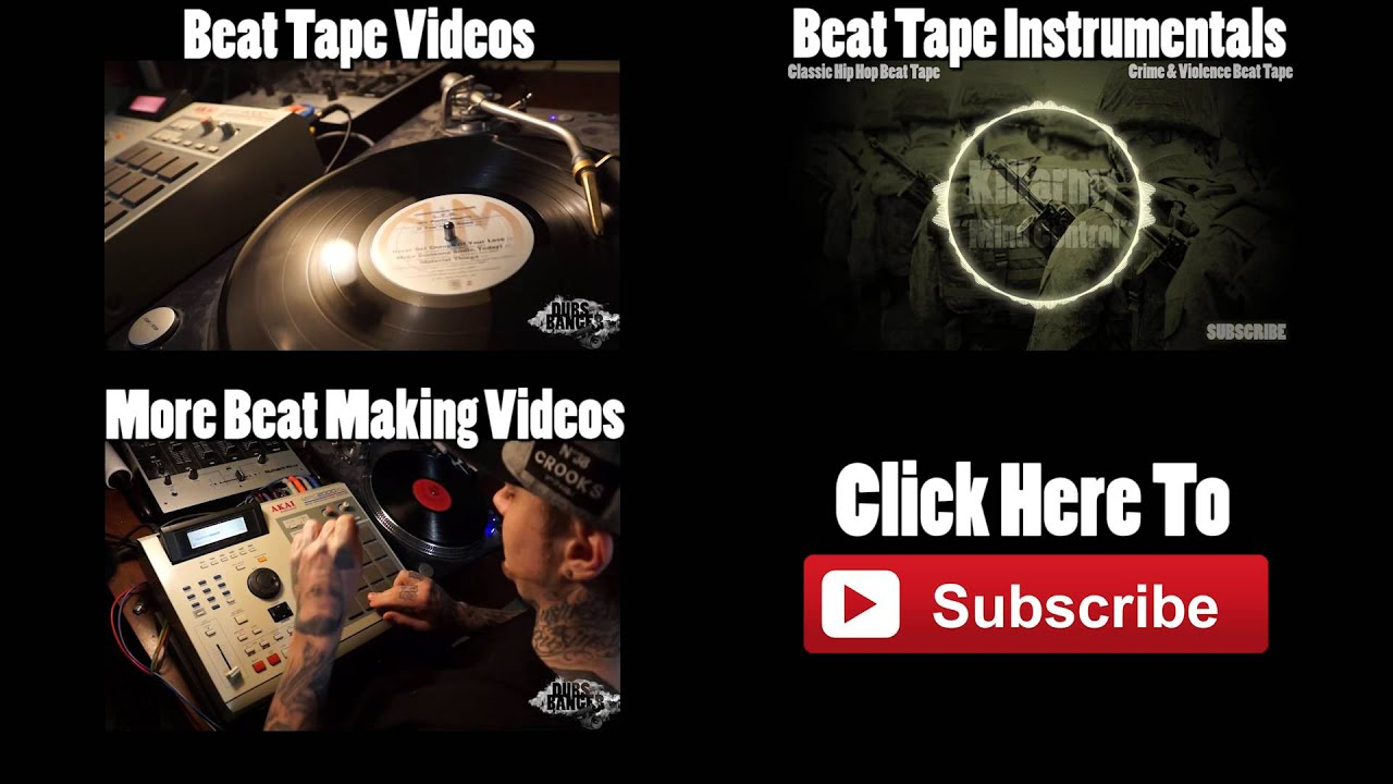 Classic Hip Hop Jazz Sample Chops MPC Beat Making Video - YouTube