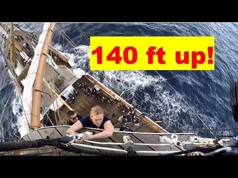 Sailing the Eagle Barque: America's Tall Ship is Training the USCG Cadets