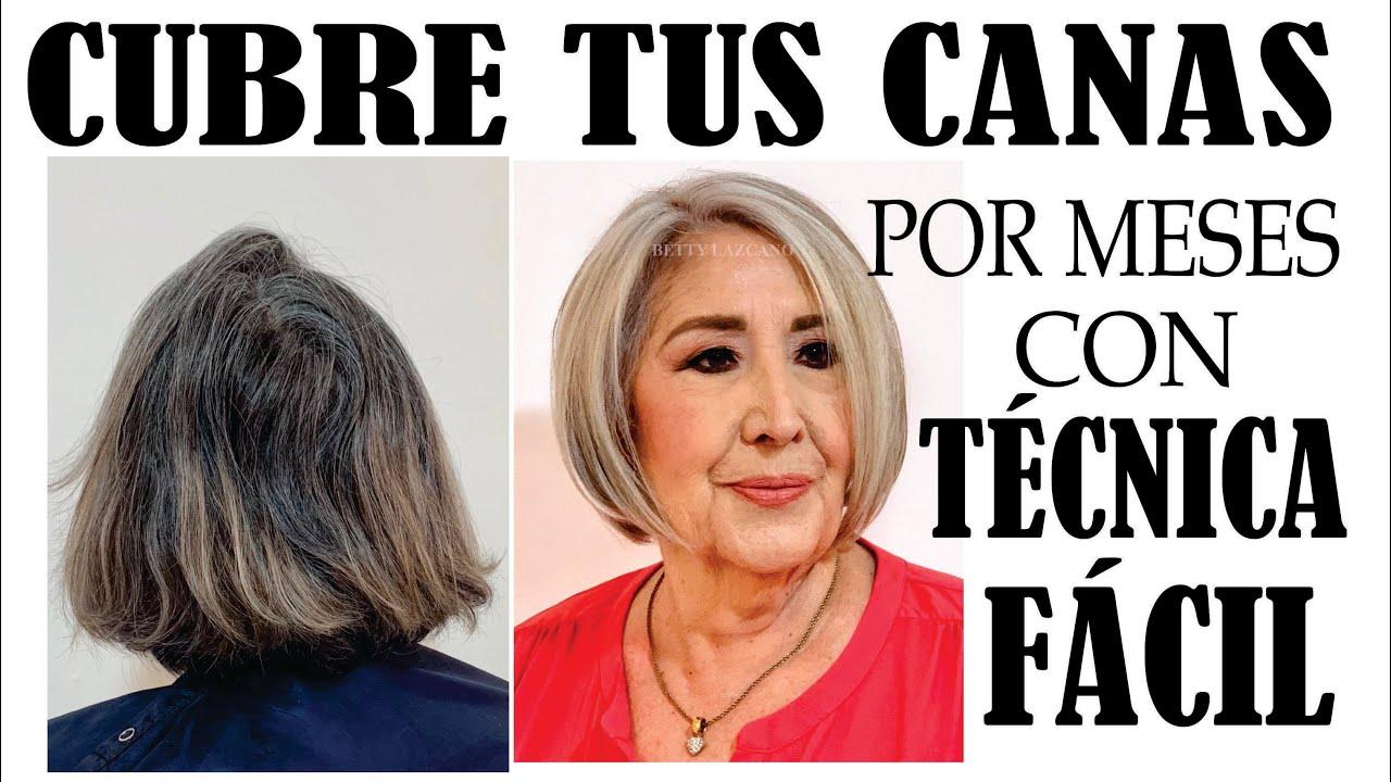 CUBRE TUS CANAS POR MESES CON ESTA TÉCNICA FÁCIL. COVER EASY YOUR GRAY HAIR #1