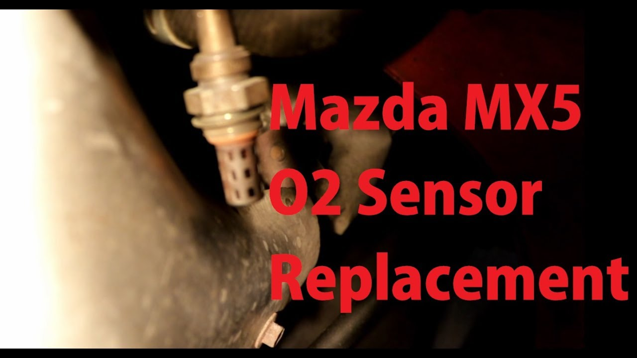 how to replace the o2 sensor on a 1989 - 2005 mazda mx5