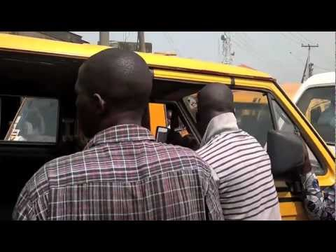 Nigeria fight as passengers enter local bus!