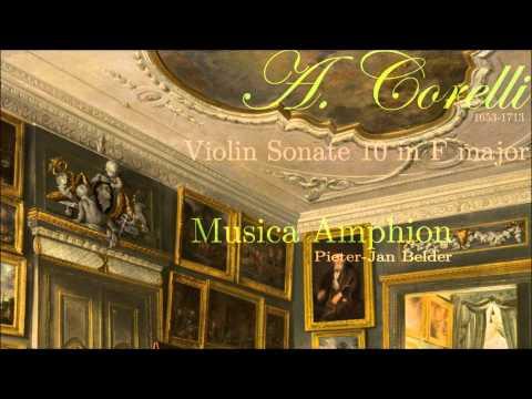 Corelli - Violin Sonata 10 in F major