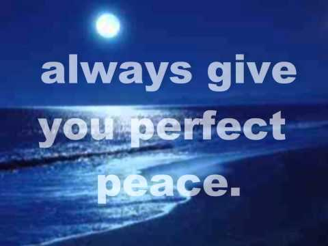 Blessings and Perfect Peace by Laura Story with Lyrics