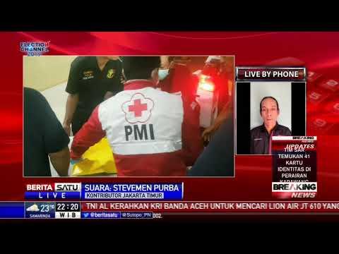 22 Kantong Jenazah Sudah Tiba di RS Polri Kramat Jati