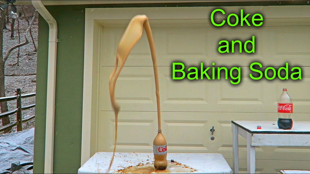 What Will Happen If You Mix Coke and Baking Soda?