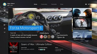 New Xbox One Experience: Preview Program