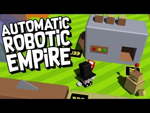 BUILDING AN AUTOMATED ROBOTIC EMPIRE! - Autonauts Gameplay