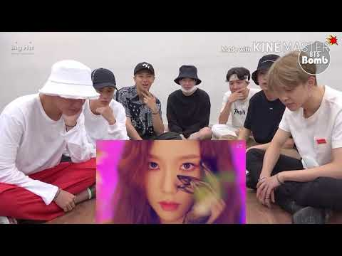 BTS  Reaction To SNSD (Lil Touch )  FMV
