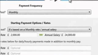 Brightpay - payroll software: http://www.brightpay.co.uk adding an employee payment hr information on software 1. to complete your employ...