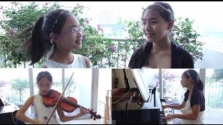 A Whole New World - Note & Pin Sisters - Vocals & Violin & Piano
