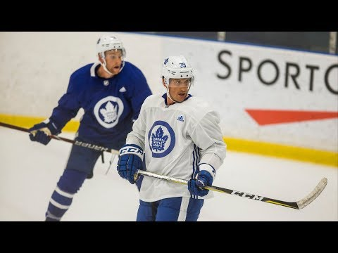 LEAFS NATION: Marlies player joins Maple's summer skate