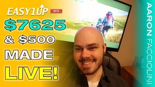 Easy1Up Review - $500 Made LIVE ($7625 so far...)