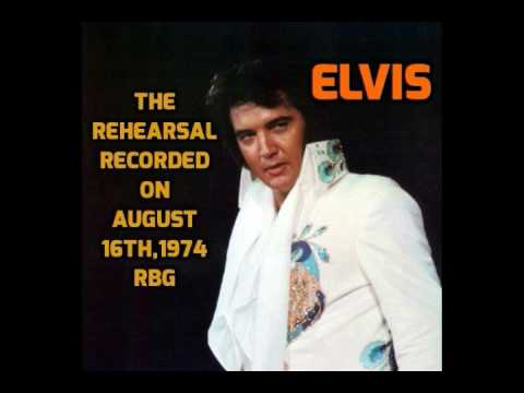 Elvis Presley-The Rehearsal-Recorded on Aug,1974 complete cd-best sound