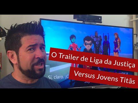 Trailer do filme Liga da Justiça vs. Jovens Titãs