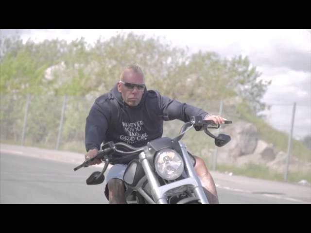 Harley ride on my Bike.  Protect your tattoo. By my sponsor ProInc filmed by Kaiser films