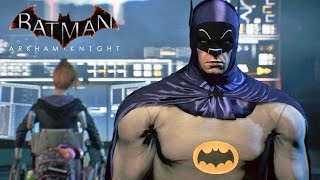 Batman Arkham Knight #02: Traje Anos 60, Batmóvel Clássico e Batjato - PS4 Gameplay