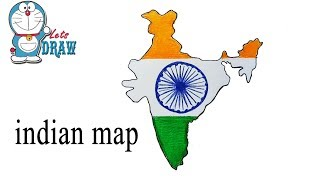 How to draw indian map step by step ( very easy )