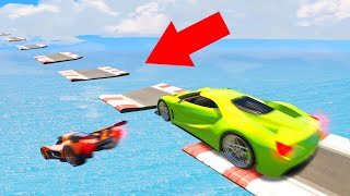 ATTEMPTING WORLDS MOST DIFFICULT SKILL COURSE! (GTA 5 Funny Moments)