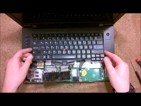 Как разобрать Ноутбук Lenovo ThinkPad SL510 ( Lenovo IBM ThinkPad SL510  disassembly)