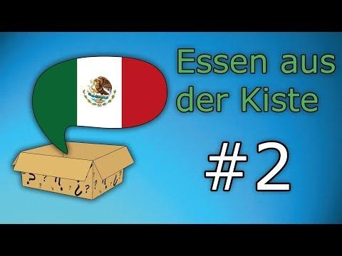 Essen aus der Kiste #2: Mexiko - Snack In A Box