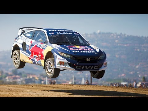 10 racers, 6000 hp, 1 winner. | Red Bull Global Rallycross Los Angeles