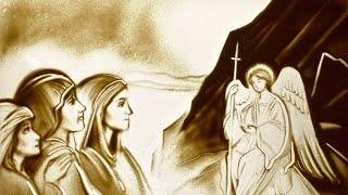 Пасха | Песочный фильм к Светлому Празднику Воскресения Христова | sand art Анна Ива | Песочное шоу