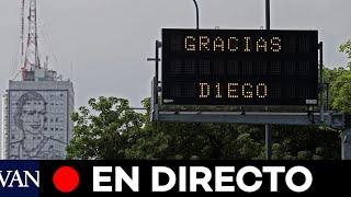 DIRECTO: Argentina reacciona a la muerte de Maradona