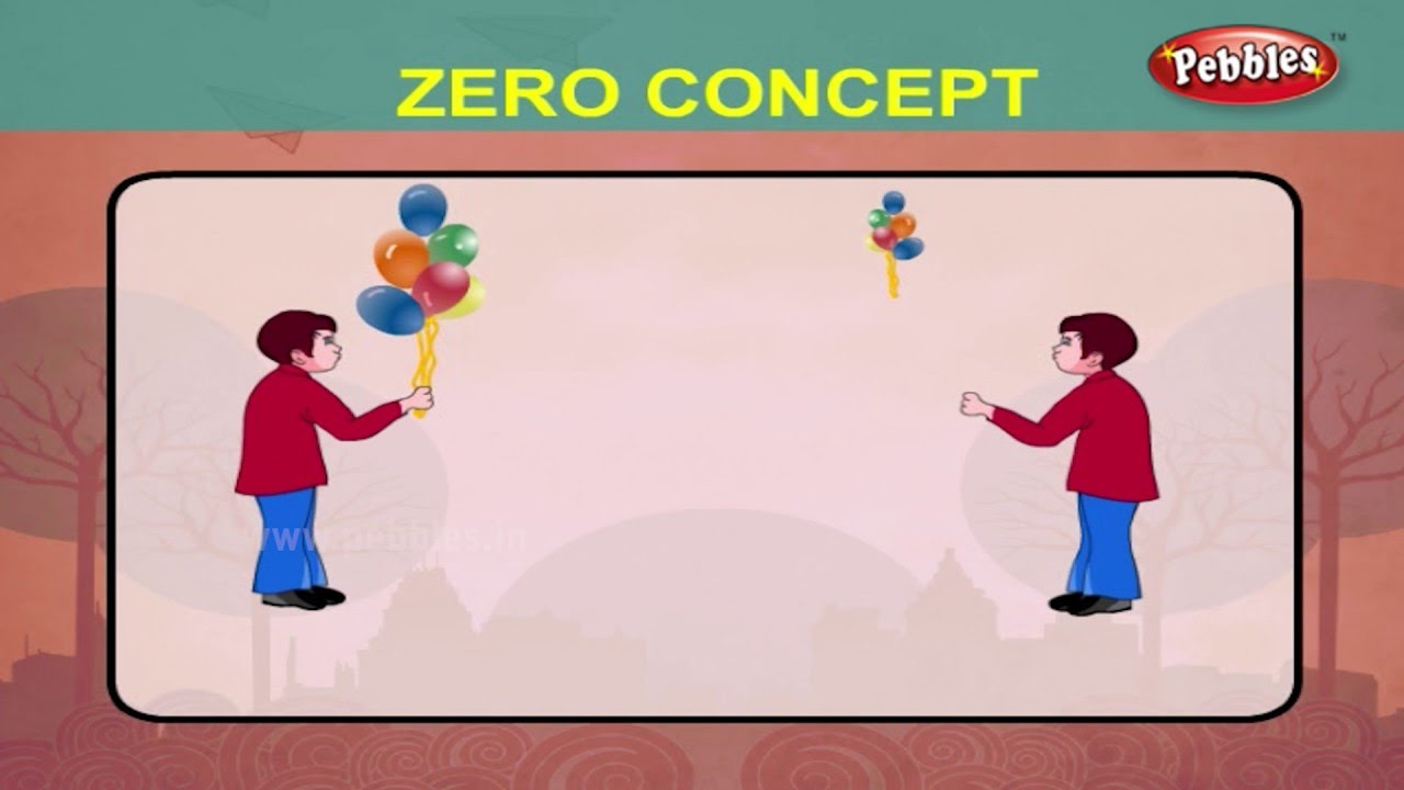Maths For Class 1 : The Concept of Zero | Learn Maths For Children