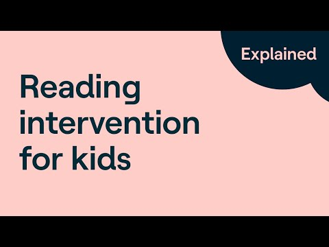 Inside a Dyslexia Intervention   Reading Strategies for Struggling Readers