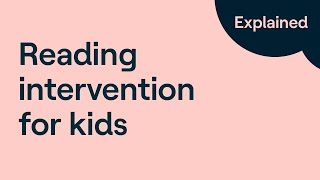 Inside a Dyslexia Intervention | Reading Strategies for Struggling Readers
