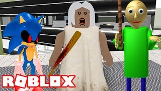 ROBLOX GRANNY AND BALDI HORROR TYCOON 2019 | ROBLOX HORROR TYCOON 2019 😱
