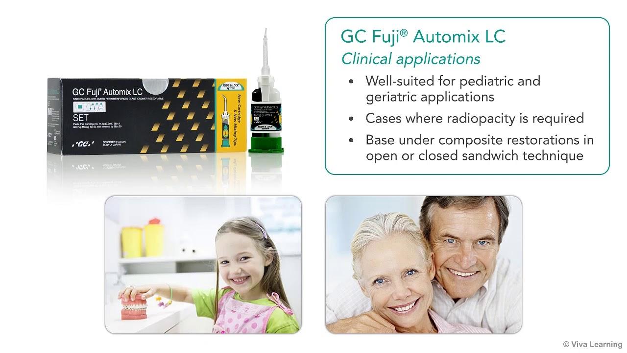 GC America   GC Fuji® Automix LC - Resin-reinforced GI