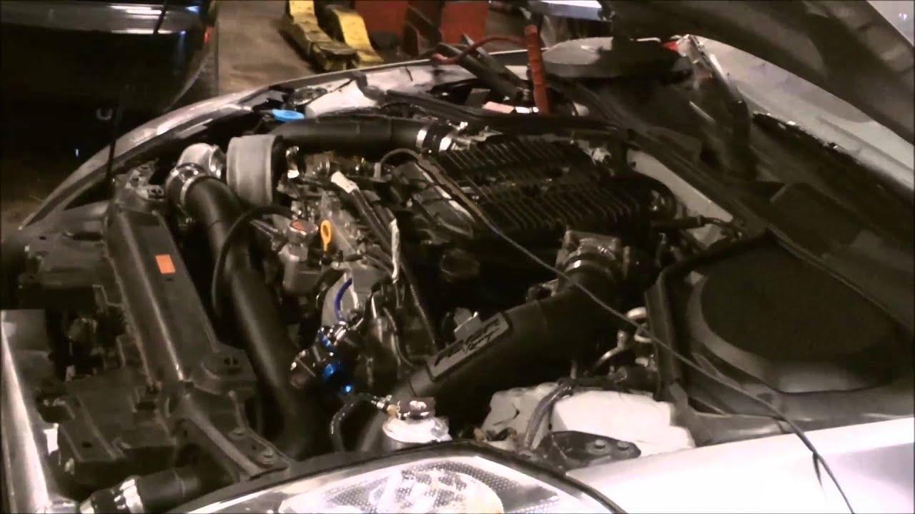 Turbo kit 350z single VQ35 Turbo