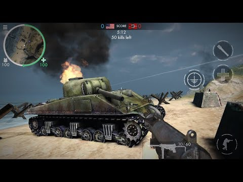World War Heroes : WW2    Normandy    Team Deathmatch