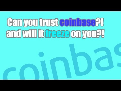 CAN YOU TRUST COINBASE WITH YOUR PRIVATE INFORMATION? | WOULD THEY FREEZE YOUR ACCOUNT?!