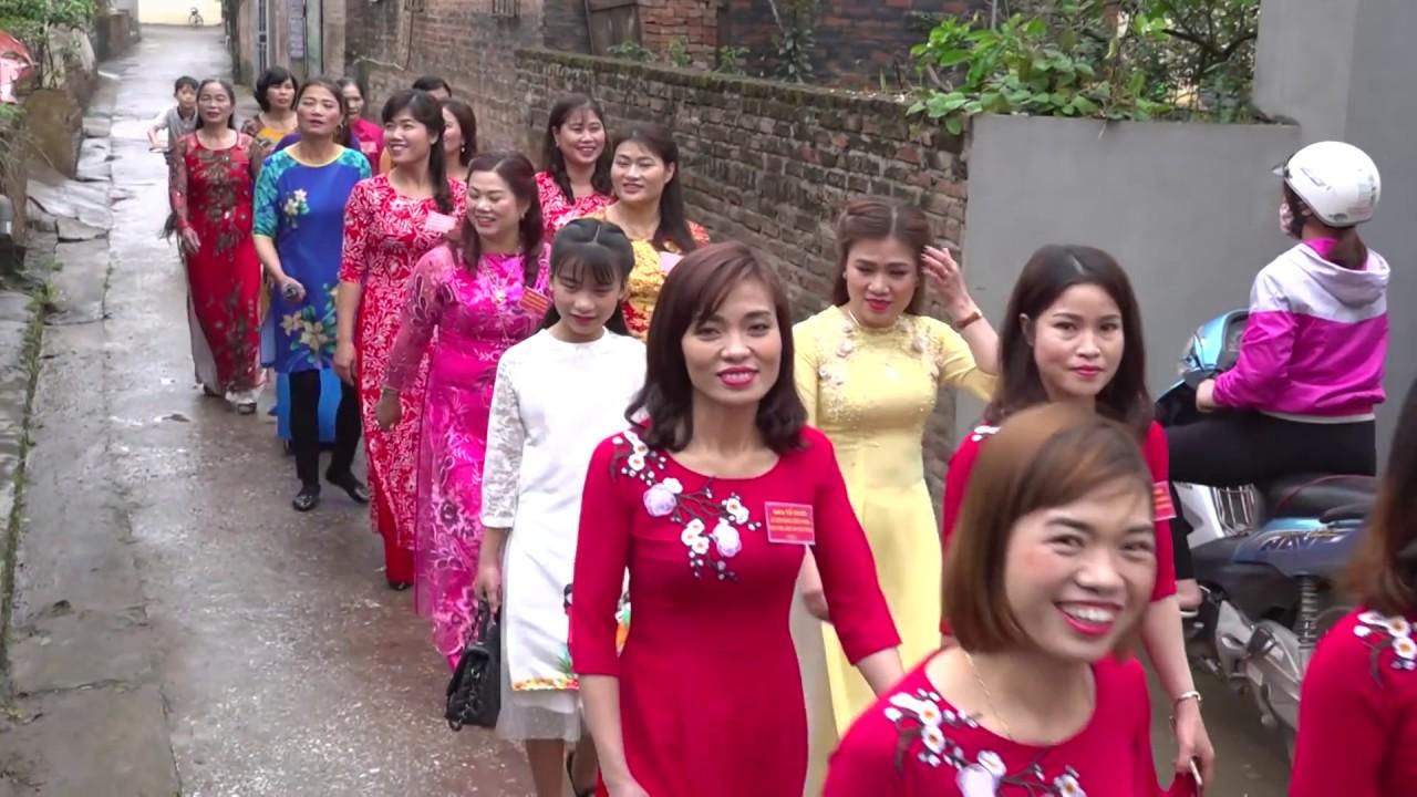 Thôn 6 xã Xuân Quan, Văn Giang, Hưng Yên đón nhận Làng văn hóa