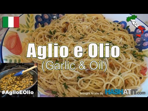 Episode #3 - Aglio E Olio (Garlic and Oil)  with Nonna Paolone