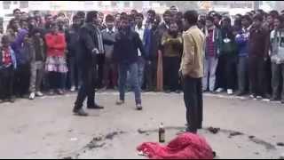 Janakpur Monastic Leo Club Street Drama on Women Violence