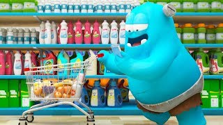 Spookiz  Shopping Spree  스푸키즈  Funny Cartoon  Kids Cartoons  Videos For Kids