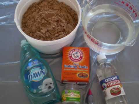 Materials Needed To Build A Volcano