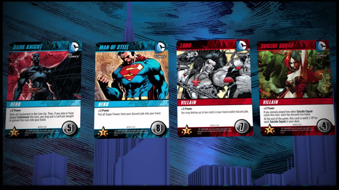 DC Comics Deck-Building Game | Cryptozoic Entertainment