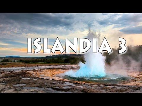 GEYSER Escupiendo Agua a 20 Metros!!   ISLANDIA #3