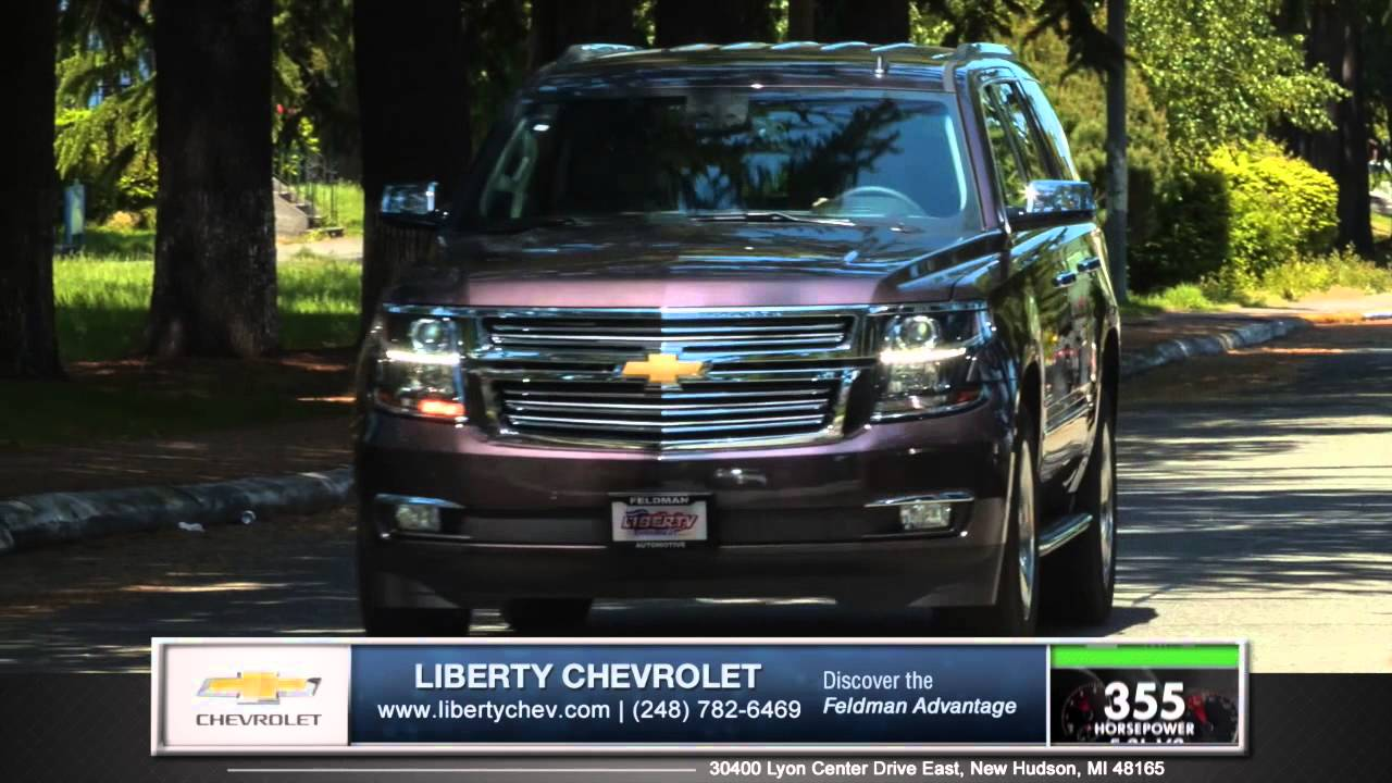consider the 2015 chevy tahoe over the new gmc yukon in new hudson michigan youtube. Black Bedroom Furniture Sets. Home Design Ideas