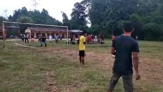 Football penalty between Zoitang Raal Club and Saitha A.