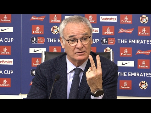 Leicester Manager Claudio Ranieri Speaks After Club Backing - Pre Leicester v Derby Press Conference