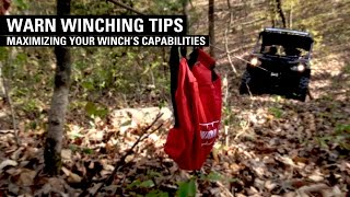 Warn Winching Tip 2016 - Maximizing Your Winch's Capabilities