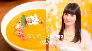 Sopa de Abóbora e Cenoura | Vamos Pra Cozinha #02