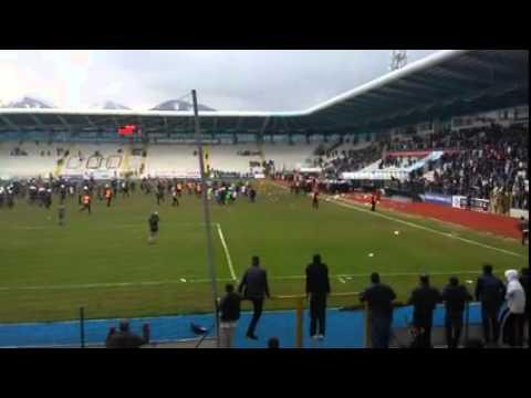 Tatangalar - Erzurum maçı sonu olaylar