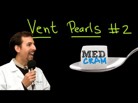 Ventilator Pearls Explained Clearly by MedCramcom  Part 2