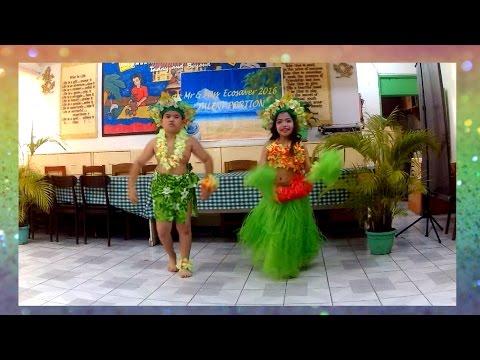 Mr and Ms Eco-Saver 2016 -Tahitian Dance #AdorableAlthea
